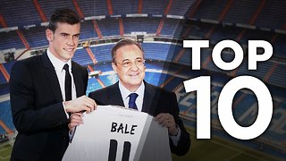 Top 10 Most Expensive Transfers In History - Video
