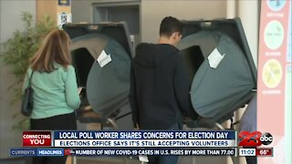 Poll worker shares concerns for upcoming election