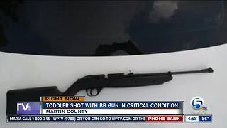 Child shot with BB gun - Video