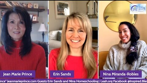 """Episode 2 Guests Erin Sands & Nina Miranda Robles on """"Inspired Blessings with Jean Marie Prince."""""""