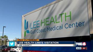 Flu outbreak leads to restrictions on children visitation at Lee Health - Video