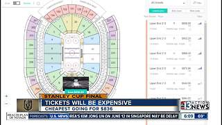 Stanley Cup Final tickets going for big bucks