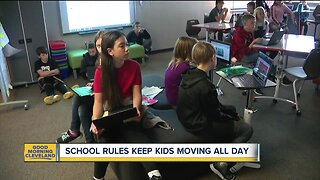 School rules keep kids moving