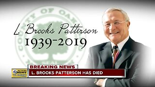 L Brooks Patterson Dies