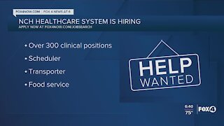 NCH hiring for 300 clinical positions