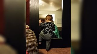 Baby Boy Baffled By Mirror - Video