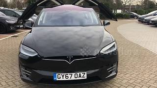Tesla Model 'Xmas' showcased at Kent showroom - Video