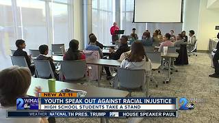Youth speak out against racial injustice