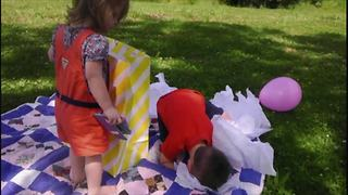 Tot Boy Doesn't Want A New Baby Sister - Video