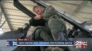Inside the 138th Fighter Wing in Tulsa - Video