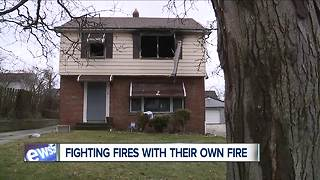 Two suspicious fires leave Cleveland residents frightened, determined - Video