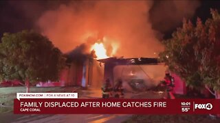 Cape Coral home destroyed by fire