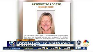 Vero Beach woman missing after hitchhiking - Video