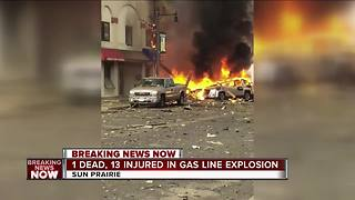 Sun Prairie Explosion: 1 firefighter dead, several others injured - Video