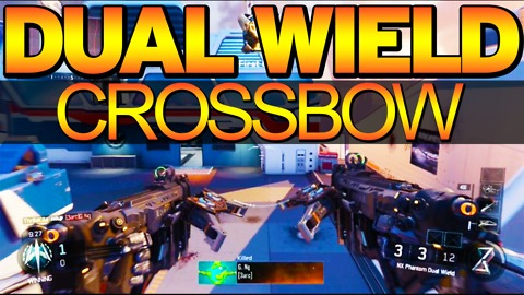 Black Ops 3 - NX Shadowclaw crossbow gameplay