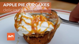 He flattens raw cinnamon rolls and places them in a muffin pan. What he ends up making? YUM! - Video