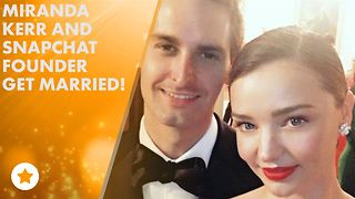 Miranda Kerr gets married in front of just 40 guests - Video