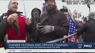 Former Veteran and Officer identified at Capitol riots