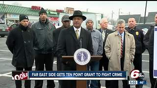 Indianapolis' far east side gets Ten Point Coalition grant to help fight crime - Video