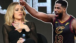 Khloe Kardashian FEARS Tristan Thompson After Game Loss! - Video