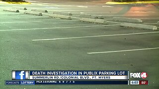 Death investigation outside a Publix