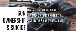 Gun owners might be more at risk for suicide