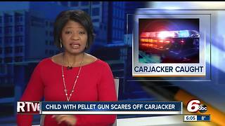 9-year-old with pellet gun stops man from stealing pickup truck in Kokomo - Video