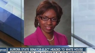 Aurora state senator-elect headed to White House - Video