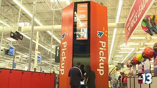 Local Walmart store makes high-tech improvements to compete with online stores - Video
