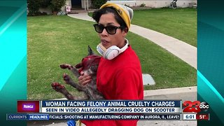 Woman facing felony animal cruelty charges