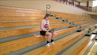Meet a Racine athlete who maintains a 4.1 GPA while involved in four sports