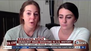 Witnesses to mass shooting talk - Video
