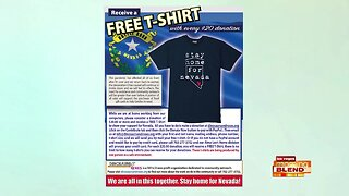 'Stay Home For Nevada' T-Shirt Drive
