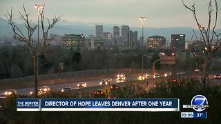 Denver's HOPE Director calls it quits; Erik Solivan was hired to fix affordable housing crisis - Video