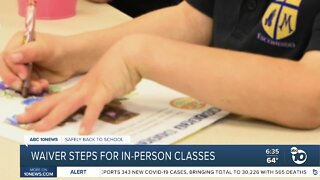State waiver could allow for in-person classes