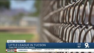 Tucson-area little league teams prepare for fall season with COVID-19 precautions