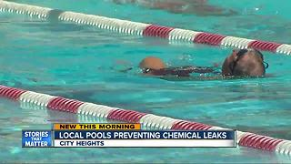 San Diego pools take extra precaution to prevent chemical spills, sickness - Video
