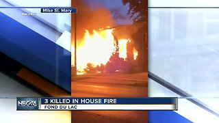 3 found dead after Fond Du Lac Fire