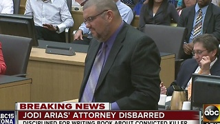Jodi Arias' attorney agrees to disbarment after writing book - Video