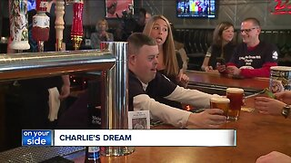 Lake County man's dream of being a bartender comes true