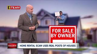 Home rental scam uses real house listings - Video