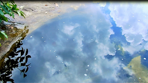 The Sky In Water On Kulen Mountain You Never Been There