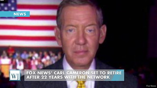 Fox News' Carl Cameron Set To Retire After 22 Years With The Network - Video