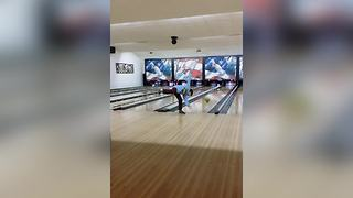 Young Boy's Hilarious Bowling Fail - Video