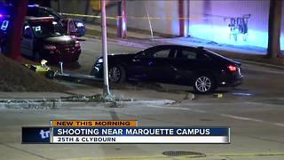 Shooting near Marquette Campus - Video