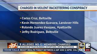 8 indicted in alleged violent gang conspiracy - Video