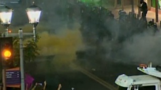 RAW VIDEO: Tear gas deployed on protesters in Phoenix