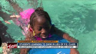 Clearwater Kids swapping PE for swim lessons - Video