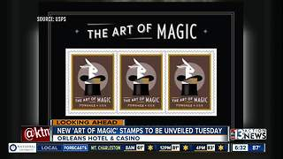 New Art of Magic Stamps to be unveiled in Las Vegs - Video