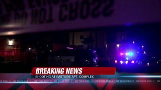 One man dead after a shooting at an east-side apartment complex - Video